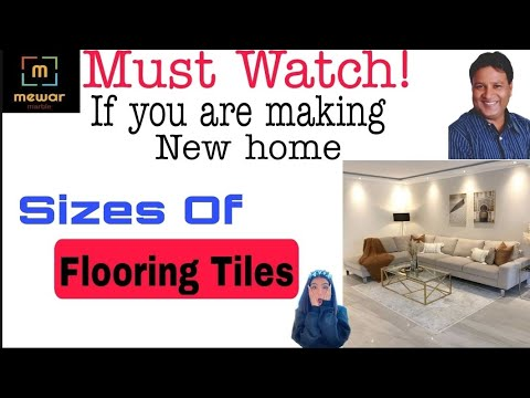 Sizes of flooring Tiles