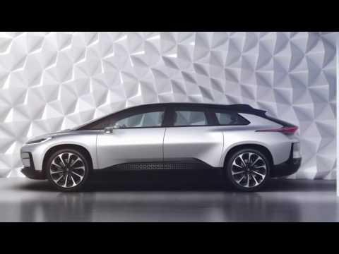 Faraday Future FF 91   1035bhp electric car revealed