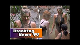 I'm a celebrity 2017: rebekah vardy flaunts major cleavage in seriously plunging swimsuit| Breaking