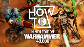 How to Play Warhammer 40k 9th Edition for Beginners