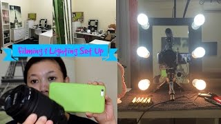 Present Filming & Lighting Set Up || Tagalog