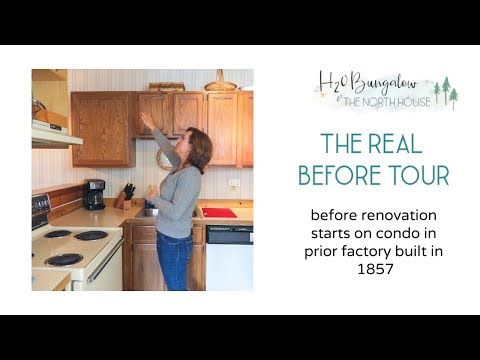 DIY Home Renovation Before Tour
