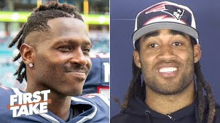 Stephon Gilmore: Antonio Brown was a good teammate during his stint with the Patriots | First Take Video