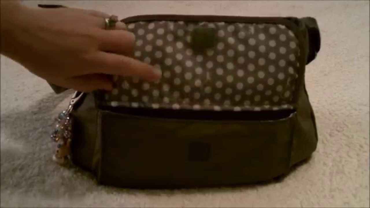 0aa3d627460 How I pack my Kipling SYRO for me and baby :) - YouTube