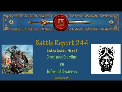 The 9th Age Battle Report 244