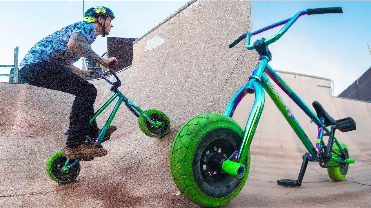 MINI BMX HYBRID TRICKS! *FLAIR* - YouTube