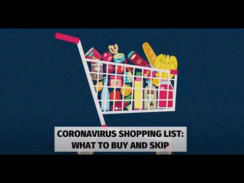 Coronavirus: What Groceries And Medications Should You Stock Up On?