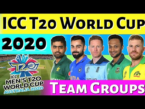 T20 World Cup 2020 All Team Groups And Qualifier Teams List Youtube
