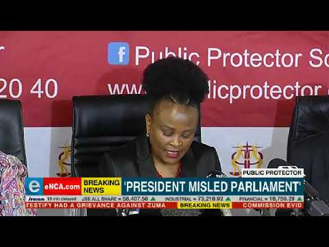 Public Protector finds against Ramaphosa
