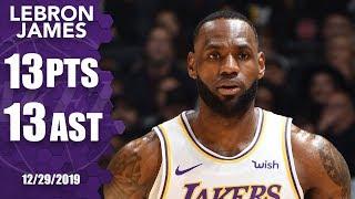 LeBron James makes NBA history in front of Kobe Bryant | 2019-20 NBA Highlights