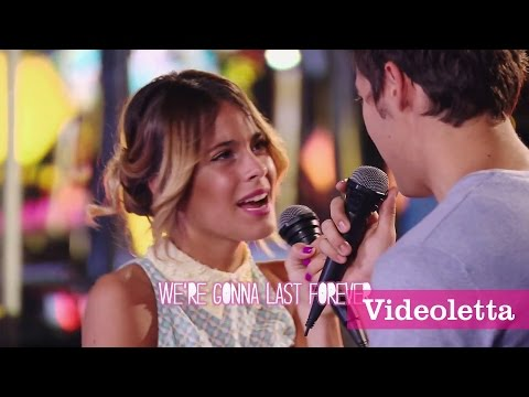 "Violetta 3 English Exclusive: Violetta and Leon sing ""Carry my heart"" (""Descubri"") with Lyrics Ep.60"