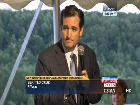 Sen. Ted Cruz NH Speech on Taking America Back gets Multiple Standing Ovations - Complete Video
