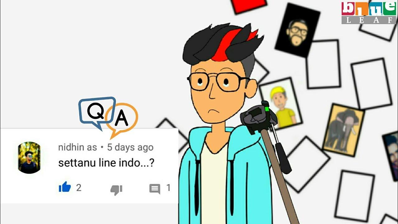 എങ്ങനെ ആണ് animation വീഡിയോ ഉണ്ടാക്കുന്നത് ??   QNA Video  Thangu   Chalu Netwrok   Blue leaf