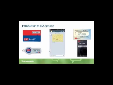 Using SMS with RSA SecurID for 2FA - MessageMedia