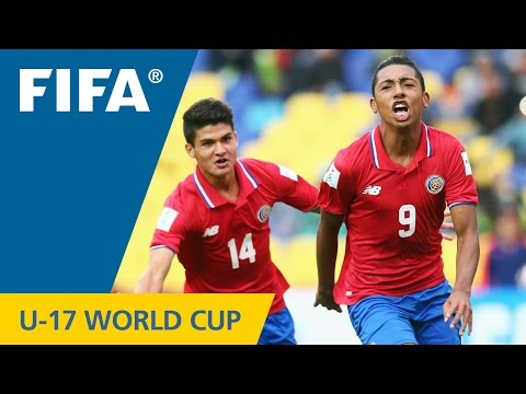 Highlights: South Africa v. Costa Rica - FIFA U17 World Cup Chile 2015