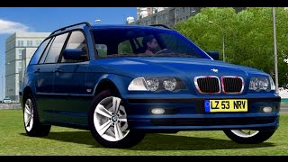 ✅ City Car Driving - BMW 320i E46 Touring | + Download [LINK] | 1080p & 60FPS