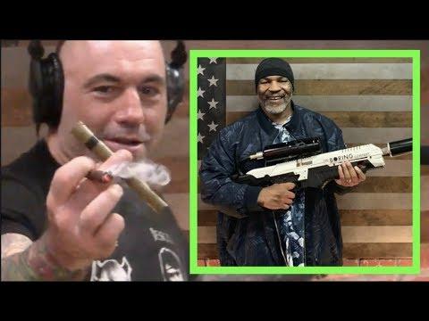 Joe Rogan Shows Off Mike Tyson's Weed Box Mp3