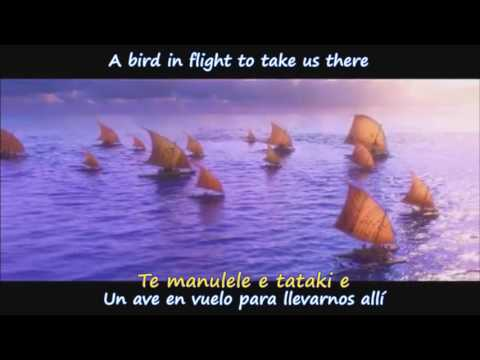 We Know The Way - Lin-Manuel Miranda & Te Vaka (Ingles/Españ