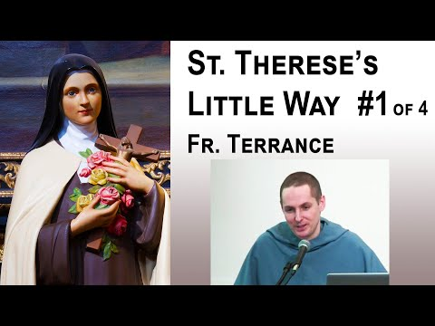 3 Stages of the Spiritual Life - #1/4 St. Therese's Little Way - Fr Terrance