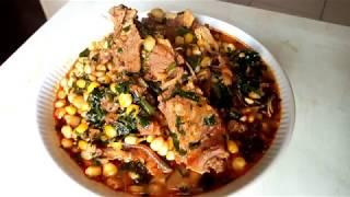 ubek ibokpot (corn porridge)