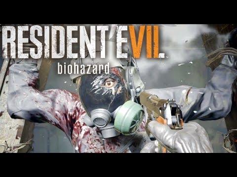 RESIDENT EVIL 7 Not A Hero DLC Gameplay: Chris Redfield