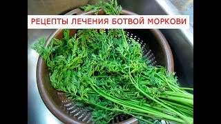 видео Морковная ботва – ее свойства (польза и вред); рецепты применения