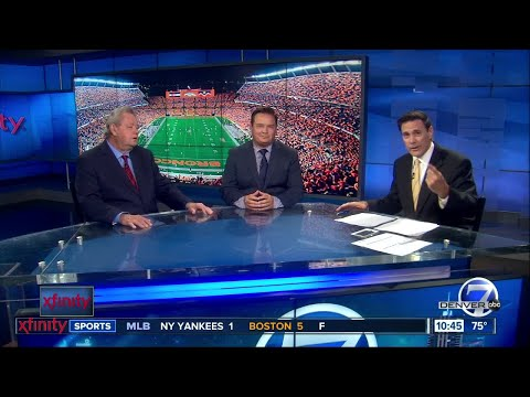 Troy Renck, Woody Paige, and Lionel Bienvenu talk about the Broncos QB competition on Xfinity Sports
