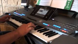 Top of the world - The Carpenters on Yamaha keyboard Tyros 5