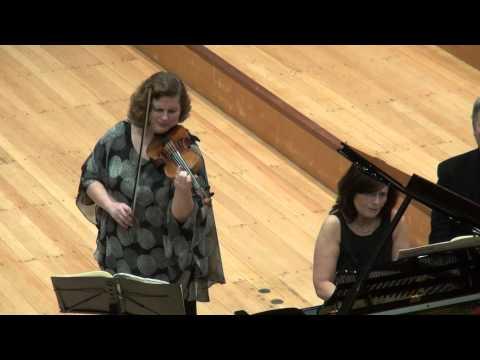 Natalia Prischepenko & Ewa Kupiec, Brahms Violin Sonata No. 2, 1 mov.