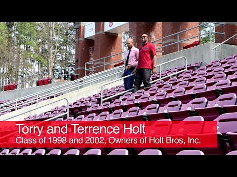 Meet Alumni Association members: Torry and Terrence Holt