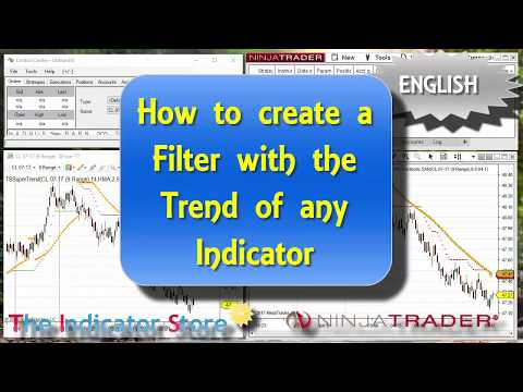 How to detect any Indicator Trend and use it as a filter