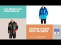 Editor Choice NEFF Jackets Hot Trends On Men Fashion
