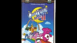 Opening To Care Bears Movie II:A New Generation 1996 VHS
