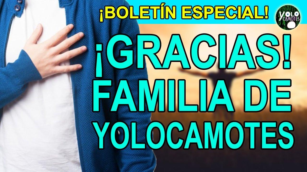 Boletín especial para la Familia de Yolocamotes