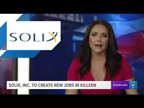 Solix, Inc. to create new jobs in Killeen