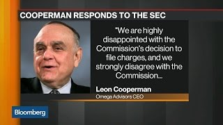 Leon Cooperman Denies SEC Insider Trading Charges