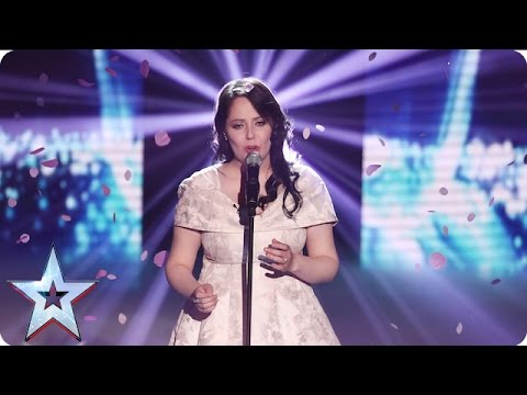 Kathleen Jenkins performs One Day I'll Fly Away  SemiFinal 1  Britain's Got Talent 2016