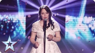 Kathleen Jenkins performs One Day I'll Fly Away | Semi-Final 1 | Britain's Got Talent 2016