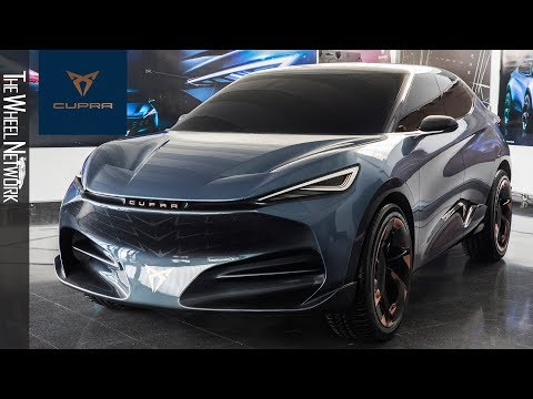 Cupra Tavascan Electric SUV Coupe Concept