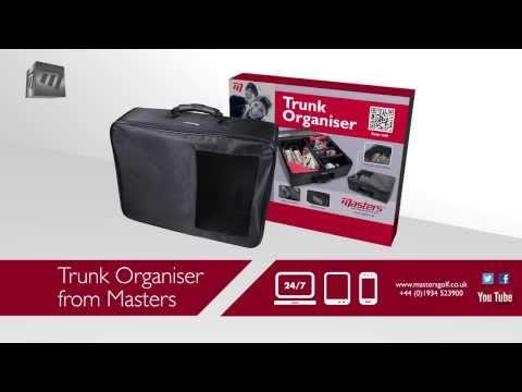 Masters Golf - Masters Trunk Organiser BA76