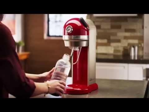 KitchenAid ARTISAN Trinkwassersprudler by SODASTREAM 5KSS1121 - Thomas Electronic Online Shop