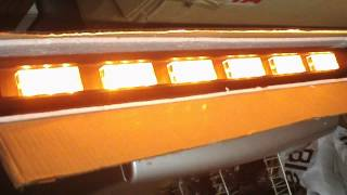 "36 Led ""super"" Shelf Or Sucker Mount Lightbar With Multi Patterns"