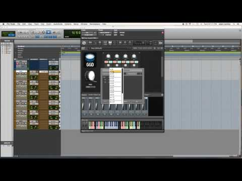 Routing GetGood Drums in Pro Tools