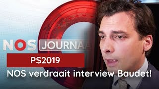 NOS verdraait interview Baudet; oordeel zelf!