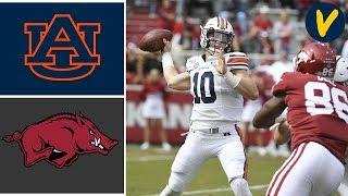 #11 Auburn vs Arkansas Highlights | Week 8 | College Football Highlights