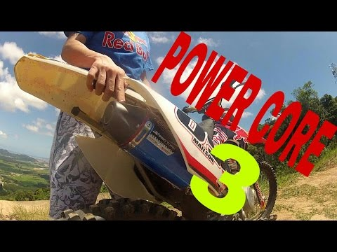 Escapamento Power core 3