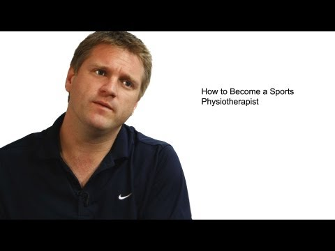 How to Become a Sports Physiotherapist