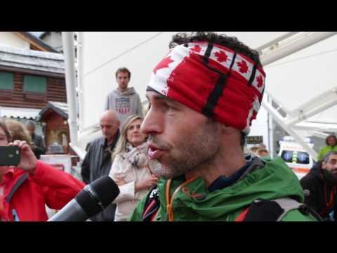 Tor des Géants - Ivan Parasacco interviews Eric Breton