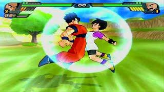 Gohan & Videl Fusion | Kid Pan vs Mr Satan Dragon Ball Z Budokai Tenkaichi 3 (MOD)