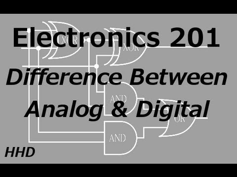 Electronics 201: Difference Between Digital and Analog